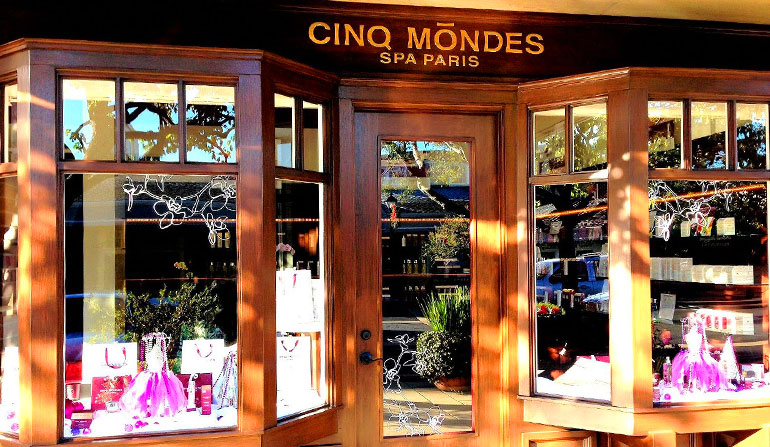 Spa Cinq Mondes Californie Carmel
