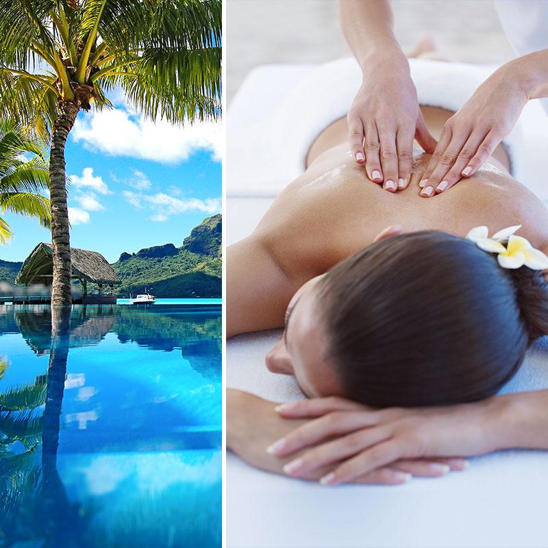 Verschönernde und Entspannende Massage aus Polynesien