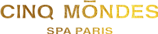Logo Cinq Mondes blanc