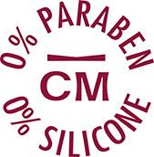 0% Paraben 0% silicone