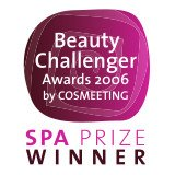 SPA Prize & Special Prize WINNER - Beauty Challenger Awards 2006